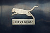 Riviera Trains leaping cat logo on 47 839
