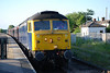 47 839 / 47853 on rear dead <br /> <br /> Location: Eaglescliffe <br /> <br /> Date: 13th June  2008 <br /> <br /> Working: 1Z63 17.30 Sunderland - York. <br /> <br /> Running 95 late<br /> <br /> Notes: <br /> <br /> Running 95 late when i got off @ Eagglescliffe due to cable theft in the Seaton Carew area though the Bonus was we went wrong line the other side of Seaton Carew & i got a free complimentray coffee out of Grand Central
