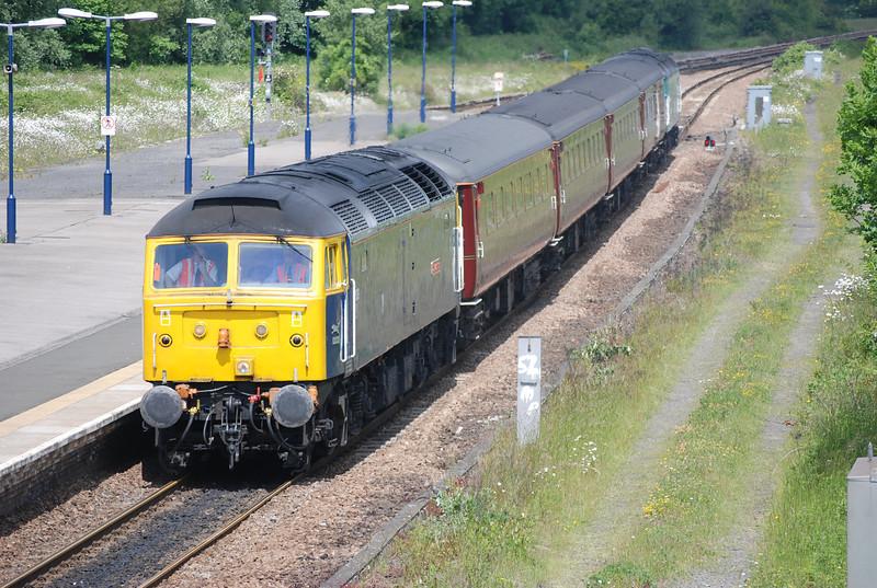 Front :47 839  Rear: 47853 <br /> <br /> Location:  Eaglescliffe <br /> <br /> Date: 13th June 2008 <br /> <br /> working : 1Z62 12 30 Sunderland - York shuttle