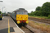 841 complete with Yellow buffers side on shot approaching into <br /> Malton