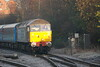3rd weekend of Northern Rail Extras with Loco Hauled trains <br /> <br /> 6th Dec 2014 <br /> <br /> 47 818<br /> <br />  pulls  into a very cold and still frost Salford Crescent working <br /> <br /> 2Z04 08.35 Buckshaw Parkway - Manchester Victoria