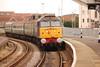 57004 <br /> <br /> Eases into Hartlepool <br /> <br /> With 2Z23 11.30 Darlington - Sunderland