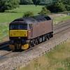 47760 West Coast Railway working 0Q75 Didcot - Didcot passing Ashbury near Shrivenham