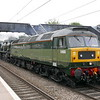 D1935 (47805) and 34046 (34052) at  Ealing Bdy