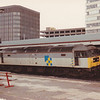 Trainload Construction liveried 47063 awaits the signal at Reading with ARC JGAs on 3rd June 1989