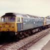 47013+ 47189 pass Severn Tunnel Jn on 11th May 1984