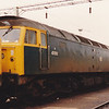 47012 rests in Bescot Holding Sidings on 26th August 1989
