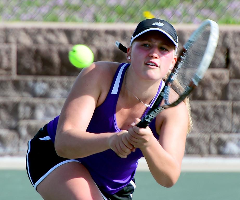 Class 4A Regional Tennis Day 2