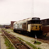 50020 has been stripped and now awaits cutting at Booths Rotherham on the 23rd May 1992