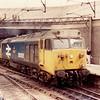 50008'Thunderer' enters Birmingham New St on 8th September 1984