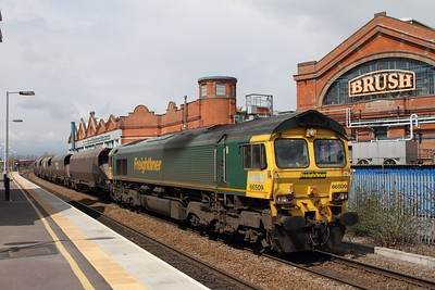 66509 on 4K53 Ratcliffe to Crewe Basford Hall at Loughborough on the 27th April 2013