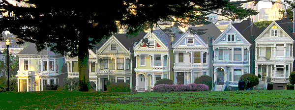 alamo square by kop