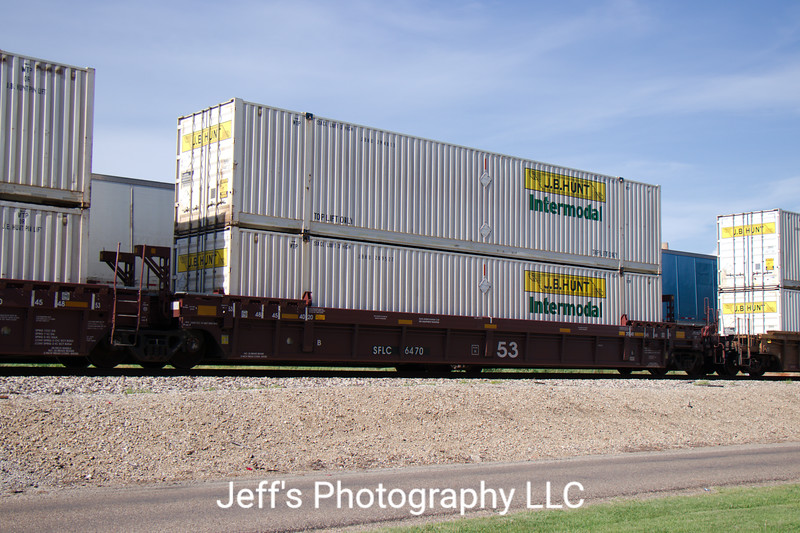 BNSF 53' Thrall Well Car No. 6470