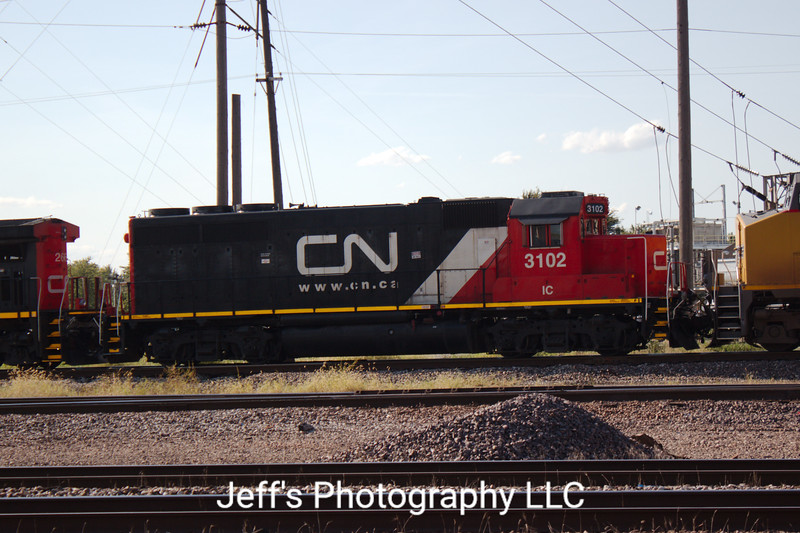 Canadian National GP40-2R No. 3102