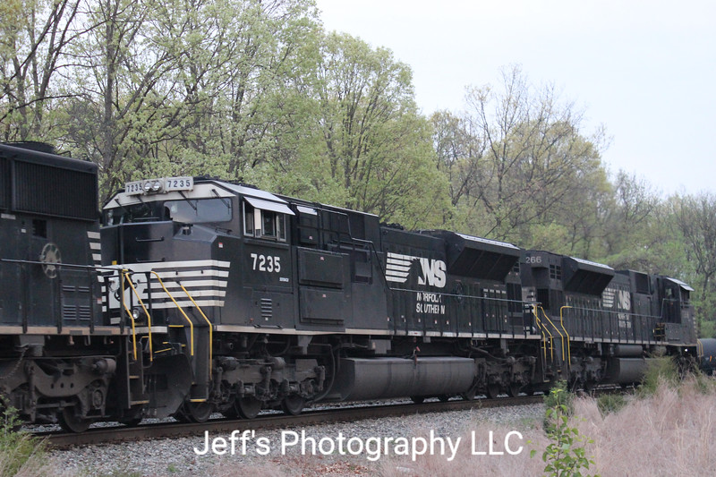 Norfolk Southern SD70ACU No. 7235
