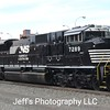 Norfolk Southern SD70ACU No. 7289