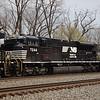 Norfolk Southern SD70ACU No. 7244