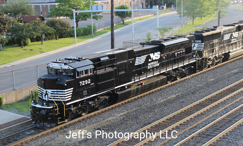 Norfolk Southern SD70ACU No. 7292
