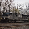 Norfolk Southern SD70ACU No. 7257
