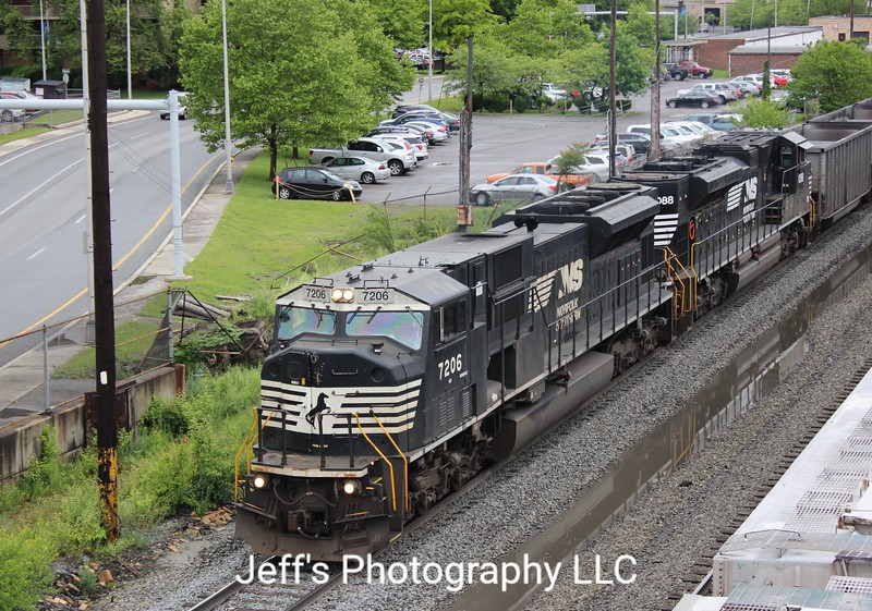 Norfolk Southern SD80MAC No. 7206