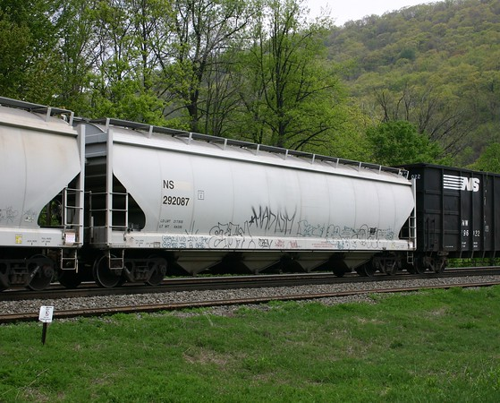 Norfolk Southern 4-Bay Trinity 5650 cu. ft. Covered Hopper No. 292087