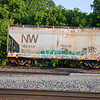 Norfolk Southern 2-Bay ACF 2980 cu. ft. Class HC79 Centerflow Covered Hopper No. 180614
