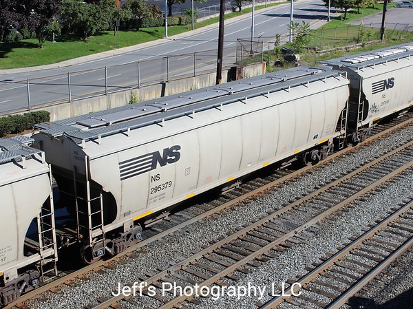 Norfolk Southern 3-Bay Trinity 5161 cu. ft. Class HC115 Covered Hopper No. 295379