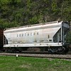 Norfolk Southern 2-Bay ACF 3300 cu. ft. Class HCS-40 Centerflow Covered Hopper No. 91986