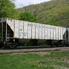 Norfolk Southern 3-Bay PS 4740 cu. ft. Class HC70 Covered Hopper No. 176919