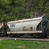Norfolk Southern 2-Bay ACF 2980 cu. ft. Class HC79 Centerflow Covered Hopper No. 180493