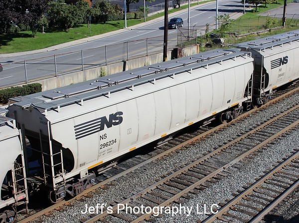 Norfolk Southern 3-Bay Trinity 5161 cu. ft. Class HC117 Covered Hopper No. 296234