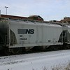 Norfolk Southern 2-Bay Trinity 3250 cu. ft. Class HC106 Covered Hopper No. 294265
