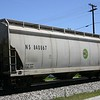Norfolk Southern 3-Bay Trinity 5150 cu. ft. Covered Hopper No. 840867