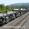 Norfolk Southern Trash Train 66J