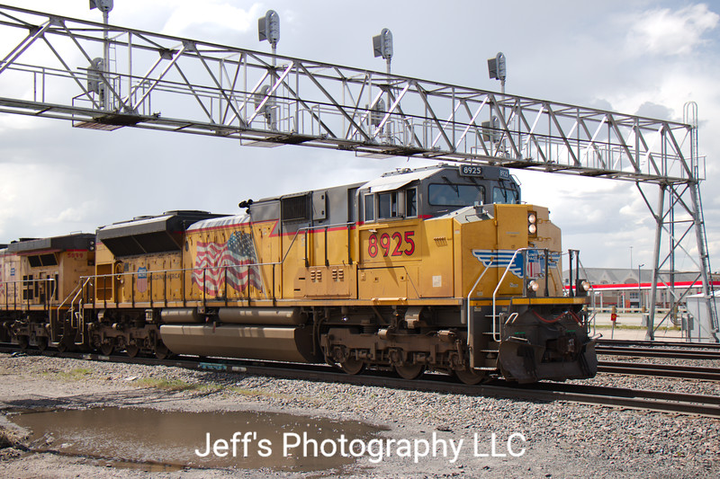 Union Pacific SD70AH No. 8925