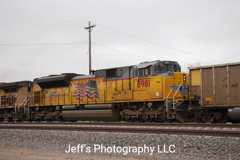 Union Pacific SD70AH No. 8981