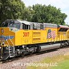 Union Pacific SD70AH No. 3017