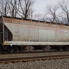Union Pacific 3-Bay 4650 cu. ft. Covered Hopper No. 496594