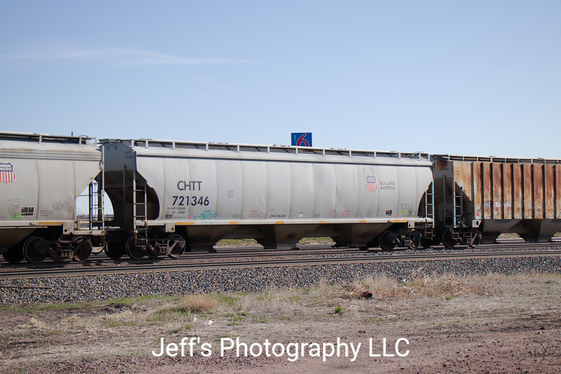 Union Pacific 3-Bay Trinity 5161 cu. ft. Covered Hopper No. 721346