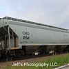 Union Pacific 3-Bay ARI 5200 cu. ft. Covered Hopper No. 10541