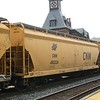 Union Pacific 4-Bay ACF Centerflow Covered Hopper No. 490224