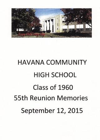 1960 Reunion Memories