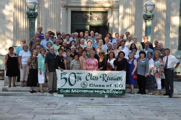 Colt School Class of 1960 50th Class Reunion 8-13-10
