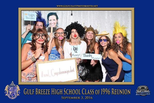 Gulf Breeze High School Class of 1996 Reunion