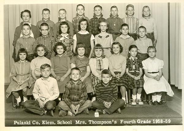 Mrs Thompsons 4th Grade