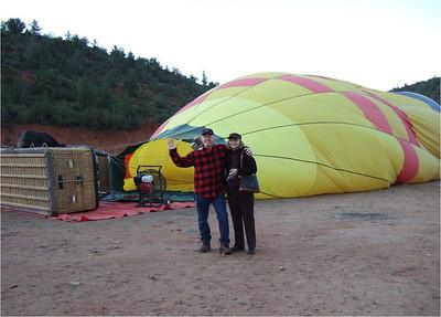 Balloon Ride over the Sedona Desert