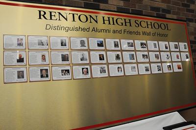 Renton High Wall of Honor Awards Ceremony 2013