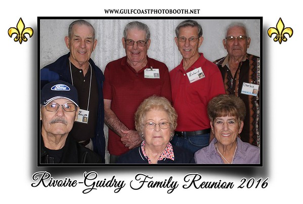 Rivoire-Guidry Family Reunion Photo Booth Prints