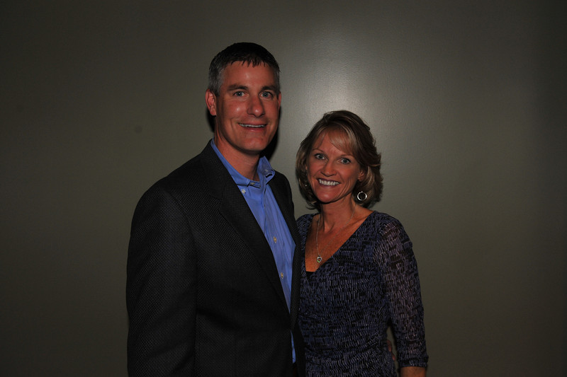 Mr. Tom Jacob and his wife Kelly.