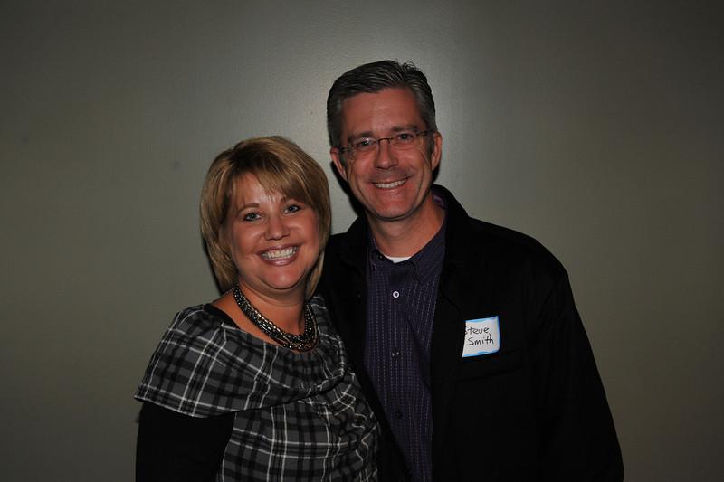 Amy (McCarney) Smith and husband Steve